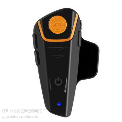 趋势摩托车头盔蓝牙2000米 对讲耳机 有线 无线 防水 FM 音乐 BT-S2