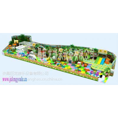 供应款淘气堡(熊出没主题)儿童室内游乐设备许昌巨龙游乐