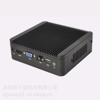 供应1037u 高清微型迷你电脑 NUC Qotom-Q100 迷你电脑主机