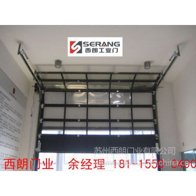 供应上海4S店透明滑升门  提升门