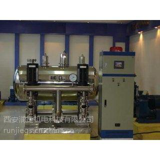 咸阳渭城无负压供水设备 咸阳渭城自动运行无负压变频 PLC智能供水设备 RJ-2732
