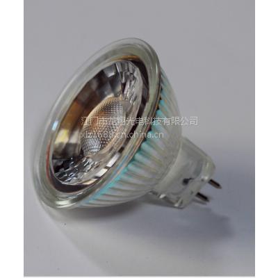 厂家专利生产 MR16/GU10 5wCOB射灯 COB天花灯 CE认证
