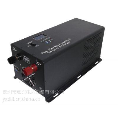 8KW多功能逆变器DC48V轮船军车专用工频逆变器厂家 深圳粤兴电力