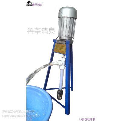 供应鲁莘清泉 不锈钢软轴泵 软轴水泵 家用泵 深井泵 QZ29 QZ34