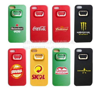 供应新款苹果手机壳 iPhone保护套开瓶器 新奇特啤酒饮料礼品