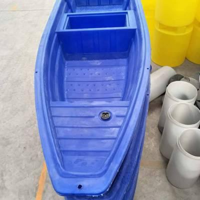 供应贵州塑料渔船 观光船 旅游船 PE滚塑一次成型双层