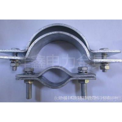 长期生产优质镀锌扁铁抱箍 吊线抱箍  各种通讯器材 电力抱箍