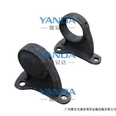供应挡轮杆 铸铁基座挡轮杆 停车架 挡轮架 支座 防撞设施 钢管挡车器