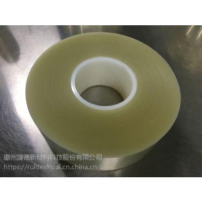 顺源胶带模切专用PET排废胶带环保 偏光片无声胶带 撕膜胶带亚克力单层保护膜 半成品母卷成品