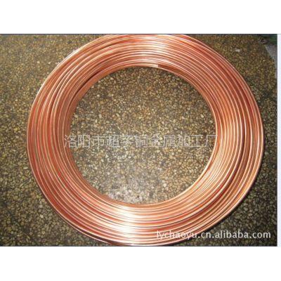 供应薄壁管子 紫铜管空调管 铜包钢管 铜包铝管