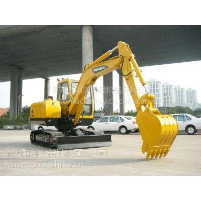 厂家授权直销上海彭浦SW60E履带式挖掘机 6吨小型挖掘机