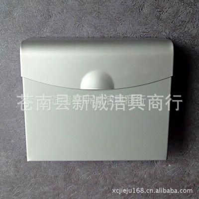 厂家供应手纸盒厕纸盒卷纸器太空铝方形手纸架纸巾盒