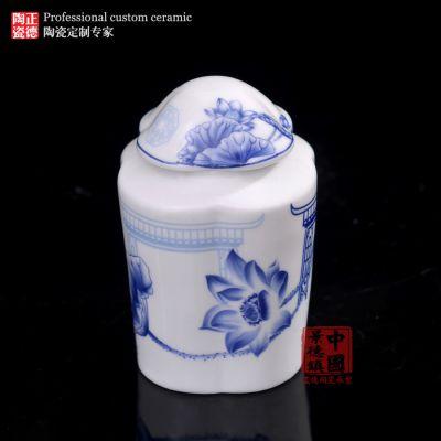 景德镇特色陶瓷泡菜罐子厂直销c041022