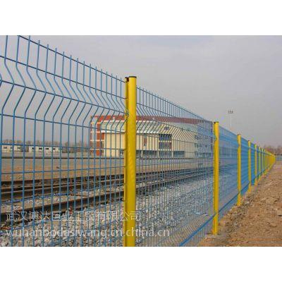 公园公共设施隔离防护网 小区防爬铁栅栏 湖北五A级生产厂家