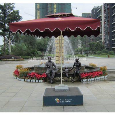 南京不锈钢双层站岗台方形圆形红白条纹黄黑横杠多款可定制
