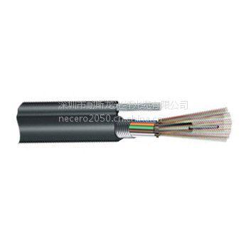 直供耐斯龙24芯单模8字型层绞式铠装光缆 GYTC8S-24B1 室外架空光缆 可定制