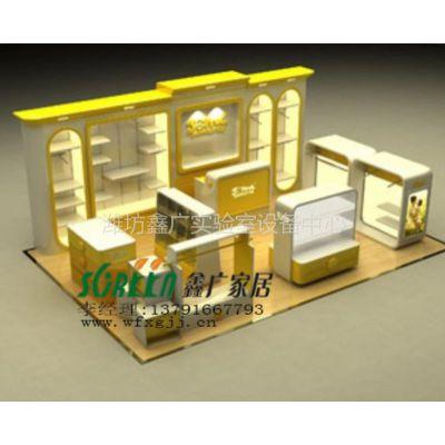 供应潍坊服装展柜|展示柜|展台|展示架|柜台|货架0312