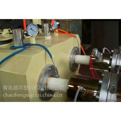 供应PVC一出双穿线管设备 超丰穿线管生产线 管材挤出机