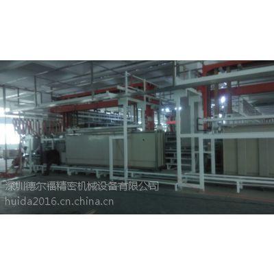 供应深圳德尔福五金龙门式挂镀电镀设备厂自动生产线