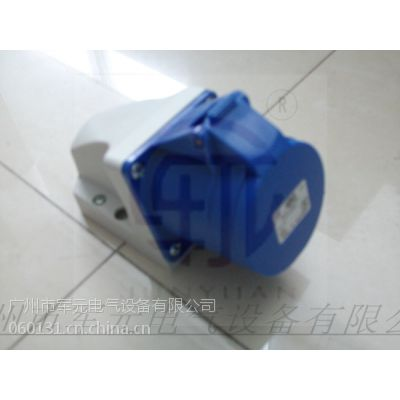供应PCE工业防水墙壁固定式插头