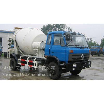 供应3.95米轴距 EQ1110GLJ 混凝土搅拌运输车 国三排放
