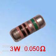 MELF0204电流感测电流取样圆柱型MELF0207晶圆电阻器
