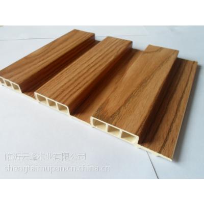 生态木木纹包覆长城板195包覆长城板生产厂家直销批发价格