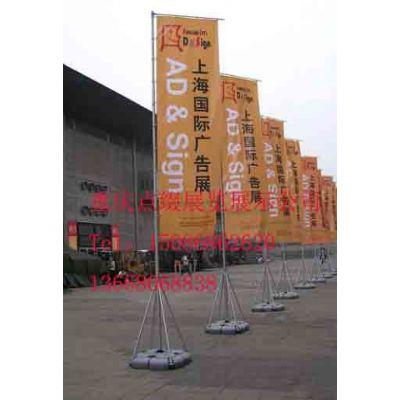 供应供应重庆铜梁3米刀旗报价,5米注水旗杆价格,广告旗杆制作,户外展示旗杆
