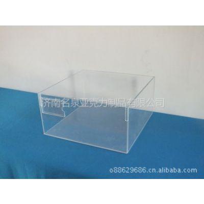 山东济南、供应无盖亚克力糖果盒、亚克力食品盒、有机玻璃包装盒