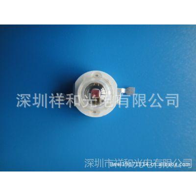 供应LED1w大功率灯珠/1W红光/LED大功率点光源