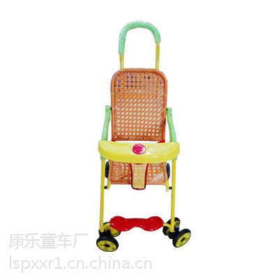 供应折叠款婴儿手推车儿童手推车藤编婴儿手推车