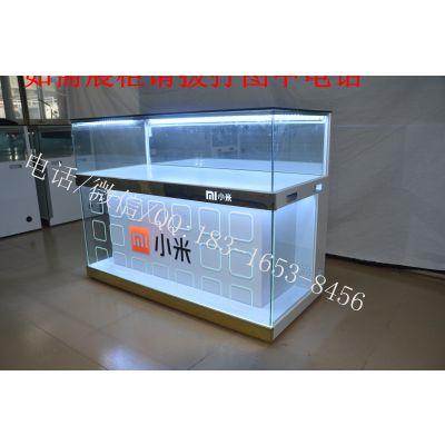 哈尔滨手机连锁店货柜 数码电子展示柜台 玻璃烤漆手机柜台