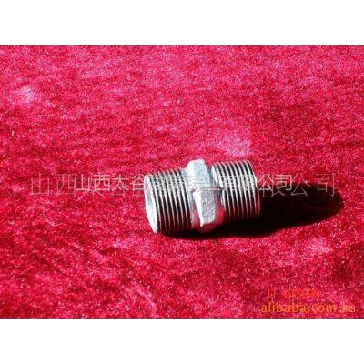 长期供应各种热镀锌玛钢管件弯头、管箍、外丝