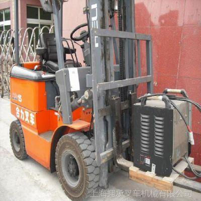 二手叉车威海|青岛二手电动叉车1.5吨 合力二手电瓶叉车转让送货