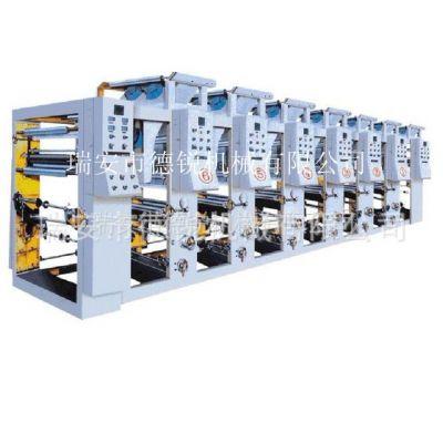 供应电脑套机 中高底档 6色薄皮革凹版印刷机 软包装