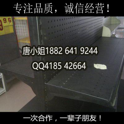 【广州货架孔板厂家】现货直销黑色万能挂钩孔板