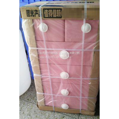 乔瑞 供应多功能粉红宝宝衣柜 五层储物柜 塑胶整理柜 