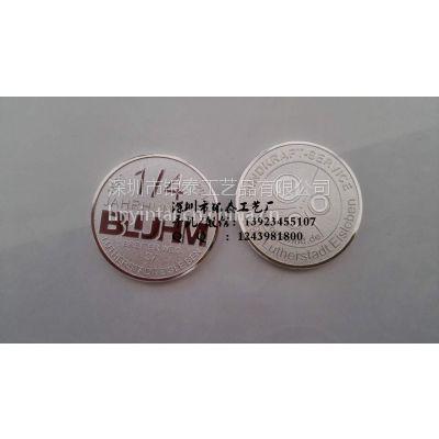 纯银纪念章深圳厂家 银章制作与批发定制!纯银纪念章