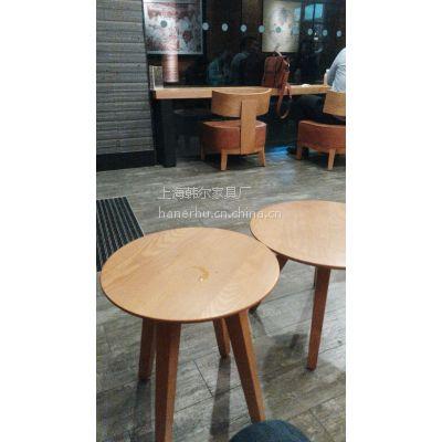 星巴克咖啡桌椅定制 上海韩尔餐饮家具工厂