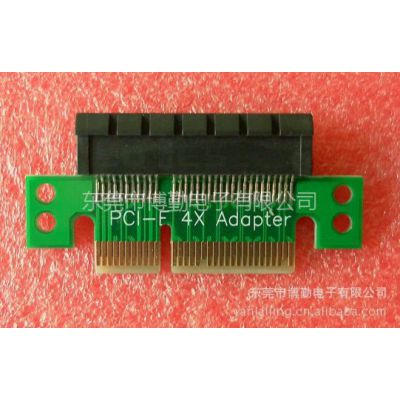 供应PCI-E 4X   64Pin 转接板  PCI-E 4X  64Pin测试保护座
