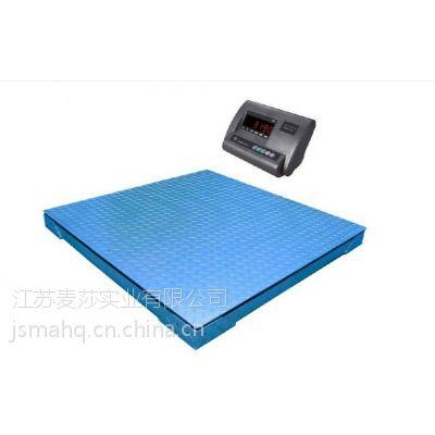 不干胶打印电子地磅秤 2吨双层地磅秤价格