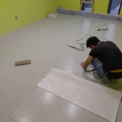 合肥PVC塑胶地板工程施工案例图片(12409)