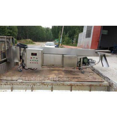 高效率可控温全自动油水混合油炸设备海德诺