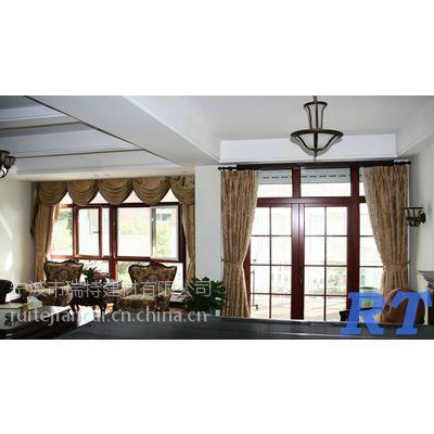 供应质优价廉的铝木复合门窗,别墅凉亭,实木门,断桥铝门窗