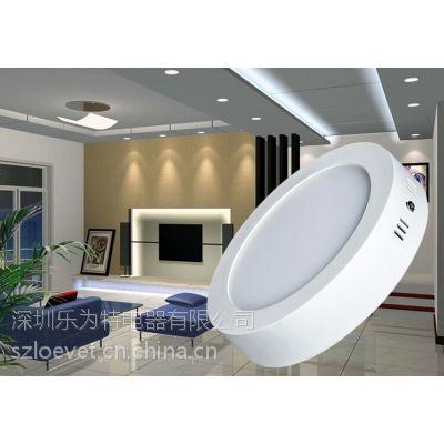 loevet LED明装圆形方形面板灯,吸顶灯