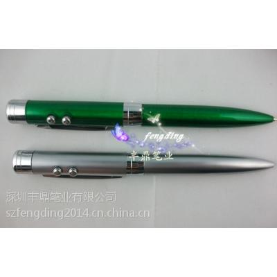 厂家直销热精度 高细头激光圆珠笔 手写笔 激光红外线笔