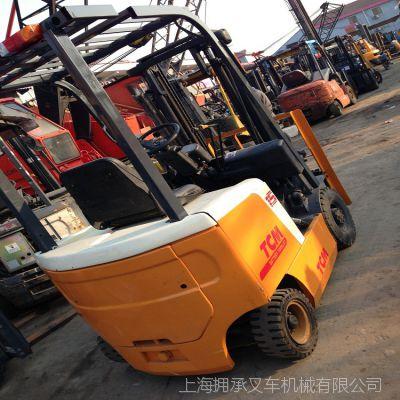 上海二手叉车市场-二手叉车批发 二手叉车 二手电动堆高叉车转让