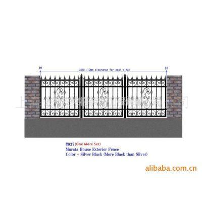 供应国外铁艺护栏