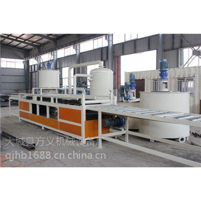 国家A级保温板生产设备硅质聚苯板设备 厂家生产销售