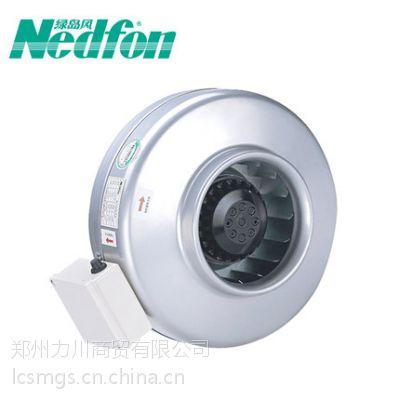郑州绿岛风圆形离心式管道风机DJT12-35B精密噪音低能效比高便于安装价格低质量保证